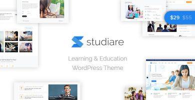 قالب استادیار | Studiare - قالب وردپرس سایت آموزشی