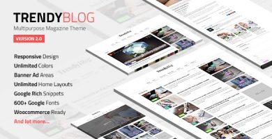 قالب TrendyBlog - قالب مجله چند منظوره