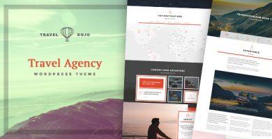 قالب Travel Dojo - قالب وردپرس تور و آژانس مسافرتی