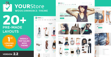 YourStore - قالب فروشگاهی وردپرس