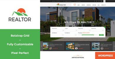 Realtor - قالب وردپرس مشاور املاک