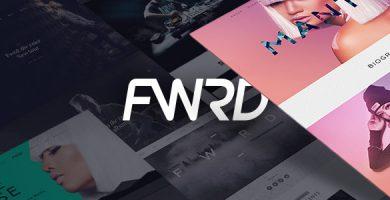 قالب FWRD - قالب وردپرس گروه موسیقی و نوازنده