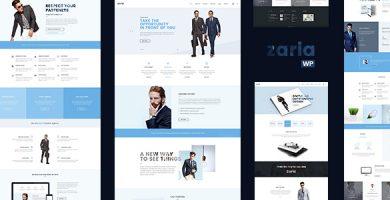 Zaria - قالب وردپرس مشاوره کسب و کار
