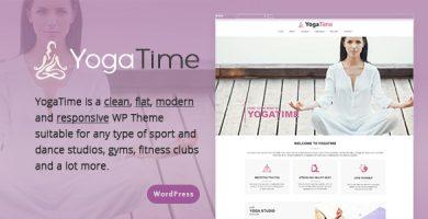 Yoga Time - قالب وردپرس ریسپانسیو