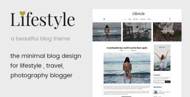 قالب Life Style - قالب وردپرس بلاگی زیبا