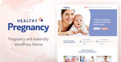 قالب Healthy Pregnancy - قالب وردپرس سلامتی و پزشکی