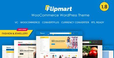 قالب فلیپ مارت | Flipmart - قالب فروشگاهی ووکامرس