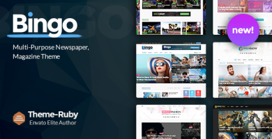 بینگو | Bingo - قالب وردپرس خبری