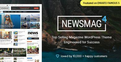 قالب Newsmag - قالب وردپرس خبری و مجله