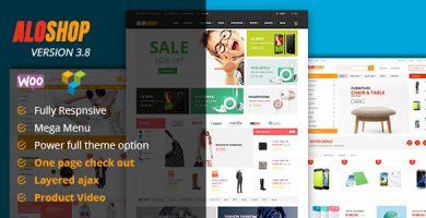 الوشاپ | Alo Shop - قالب فروشگاهی وردپرس