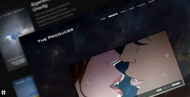 قالب The Producer - قالب وردپرس استودیو فیلم