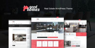 قالب Good Homes - قالب وردپرس املاک