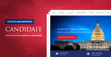 Candidate - قالب سیاسی وردپرس