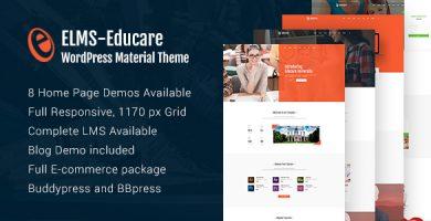 قالب Elms - قالب سایت مطالب آموزشی