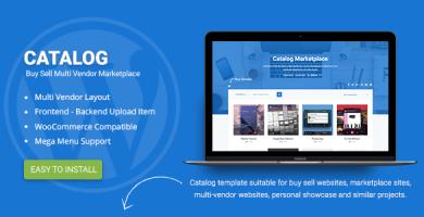 قالب کاتالوگ | Catalog - قالب وردپرس فروش فایل