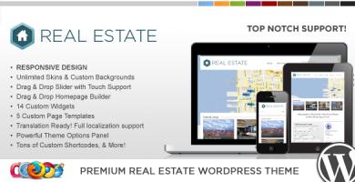 قالب WP Pro Real Estate 3 - قالب وردپرس ریسپانسیو