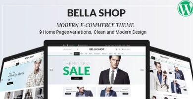 Bella - قالب وردپرس فروشگاهی