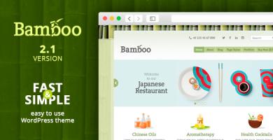 Bamboo - قالب وردپرس