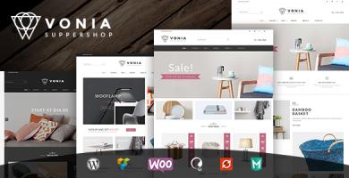 VG Vonia - قالب فروشگاهی ساده و مینیمالیست
