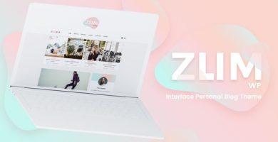 ZUM - قالب وردپرس وبلاگ شخصی
