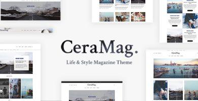 قالب CeraMag - پوسته وردپرس مجله سبک زندگی