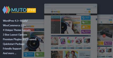 VG Muto - قالب فروشگاهی وردپرس