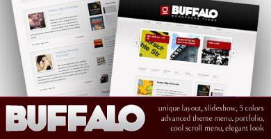 قالب Buffalo - قالب وردپرس منحصر به فرد