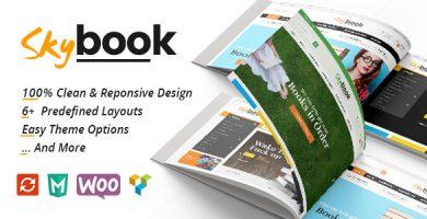 قالب اسکای بوک | VG Skybook - قالب وردپرس فروش کتاب و کتاب الکترونیکی