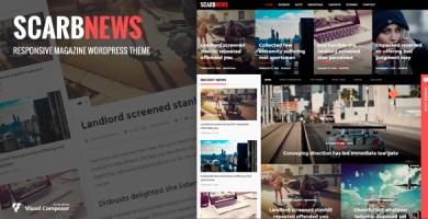 قالب Scarbnews - قالب وردپرس خبری و مجله