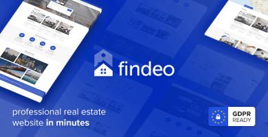 قالب Findeo - قالب وردپرس املاک