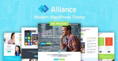 Alliance - قالب وردپرس کسب و کار و بازاریابی