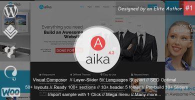 آیکا | Aaika - قالب وردپرس چند منظوره