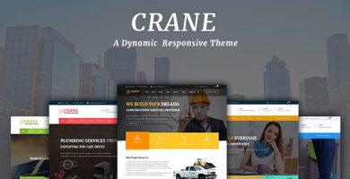 قالب Crane - قالب وردپرس چند منظوره