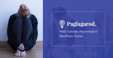 قالب Paglagarod - قالب وردپرس روانشناسی و مشاوره