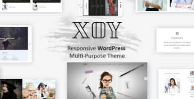 XOY - قالب وردپرس چند منظوره