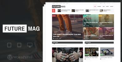 قالب FutureMag - قالب مجله و خبر وردپرس