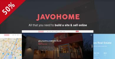 Javo Home - قالب وردپرس املاک