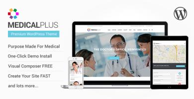 قالب MedicalPlus - قالب سلامتی و پزشکی وردپرس
