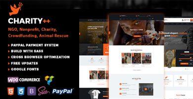 Charitix Charity - پوسته وردپرس خیریه