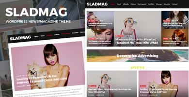 قالب Sladmag - قالب وردپرس خبری و مجله