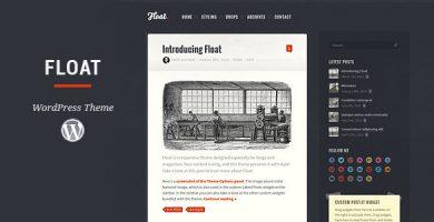 قالب Float - قالب وبلاگ وردپرس