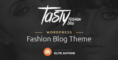قالب Tasty - قالب وردپرس وبلاگی