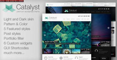 کاتالیست | Catalyst - قالب نمونه کار برای وردپرس