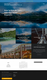 پیش نمایش موبایل قالب وردپرس Travel Stories