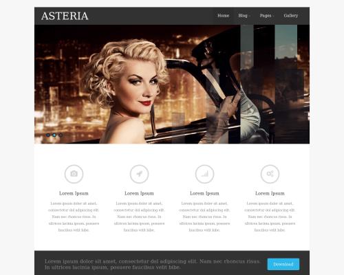 دانلود رایگان قالب وردپرس Asteria Lite