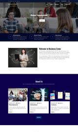 پیش نمایش موبایل قالب وردپرس Business Ezone