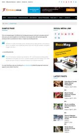 پیش نمایش موبایل قالب وردپرس Xpressmag