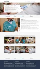 پیش نمایش موبایل قالب وردپرس WP Dentist