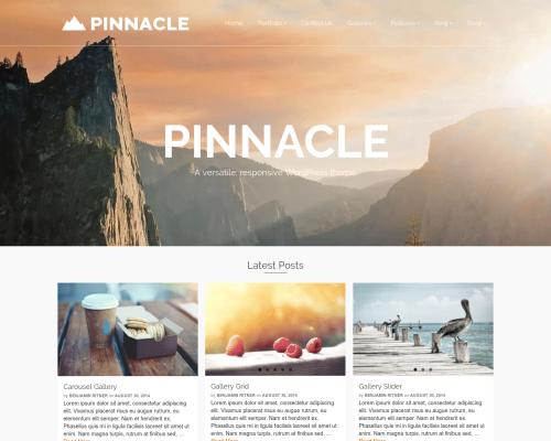 دانلود رایگان قالب وردپرس Pinnacle