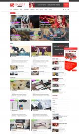 پیش نمایش موبایل قالب وردپرس SuperNews